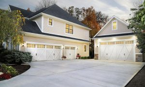 garage doors white